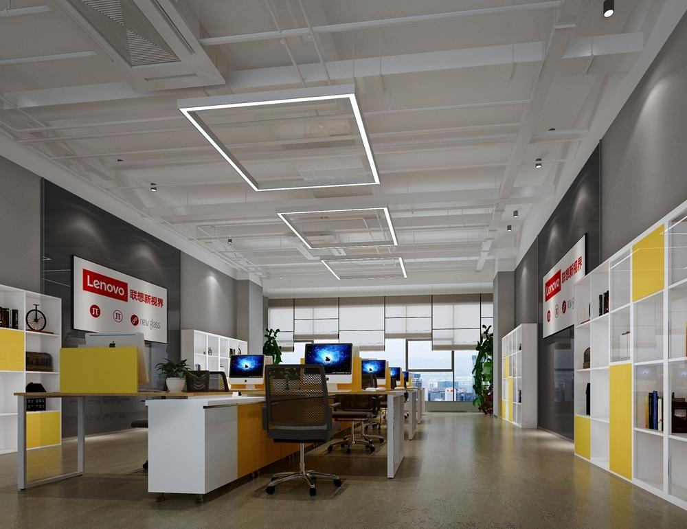 联想新世界办公室装修